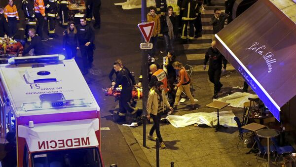 Vittime della strage del 13 novembre a Parigi. - Sputnik Italia