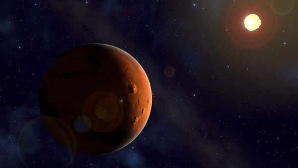 Marte e il Sole - Sputnik Italia