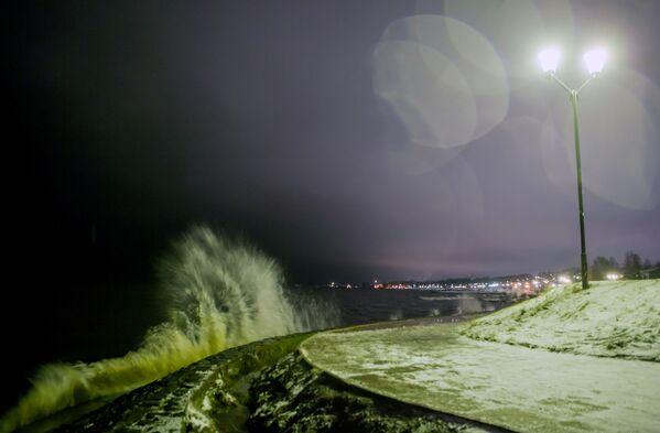 Il lago Onega d'inverno - Sputnik Italia