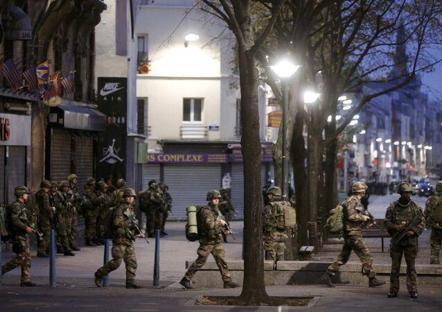 Operazione anti-terrorismo a Saint-Denis (foto d'archivio)
