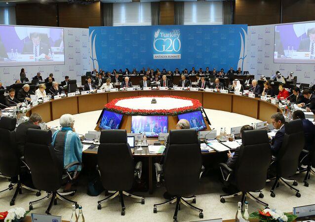 Leader del G20 al vertice di Antalya