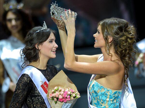 Belle e intelligenti, ecco a voi le ragazze del concorso Krasa Rossij 2015 - Sputnik Italia