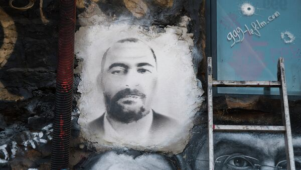 Un ritratto di Abu Bakr al-Baghdadi - Sputnik Italia