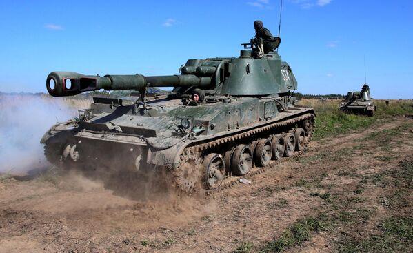 L'artiglieria dell'esercito russo - Sputnik Italia