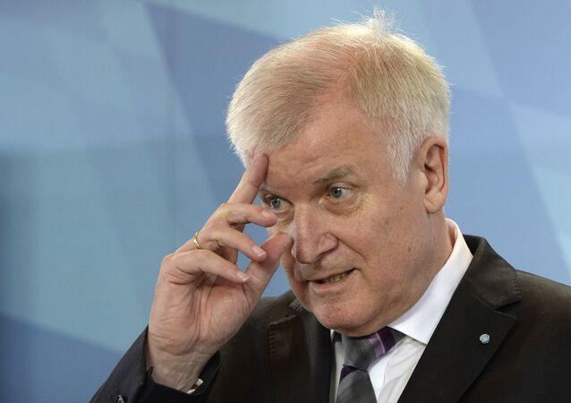 Ministro degli Interni della Germania Horst Seehofer (foto d'archivio)