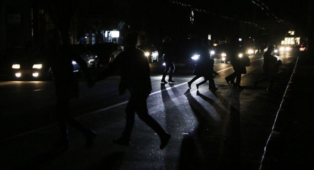 Blackout a Simferopoli, Crimea
