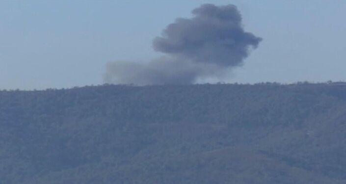Schianto aereo militare russo Su-24 al confine turco-siriano