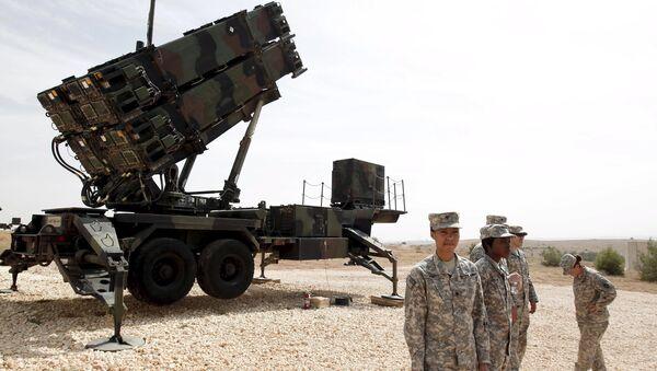 Sistemi missilistici antiaerei Patriot a Gaziantep in Turchia - Sputnik Italia