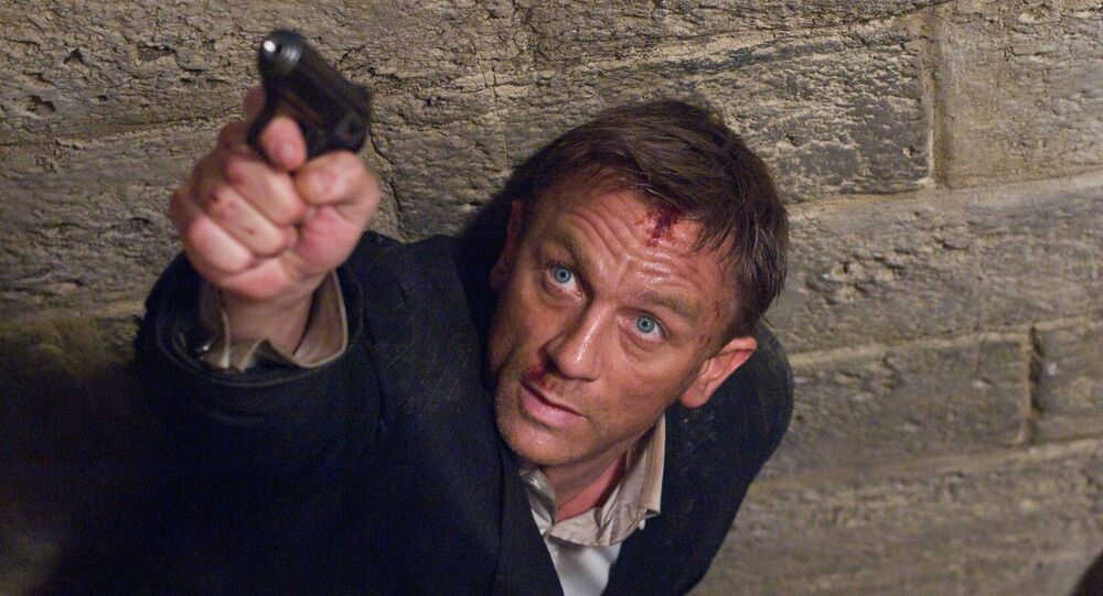 Daniel Craig nel ruolo di James Bond