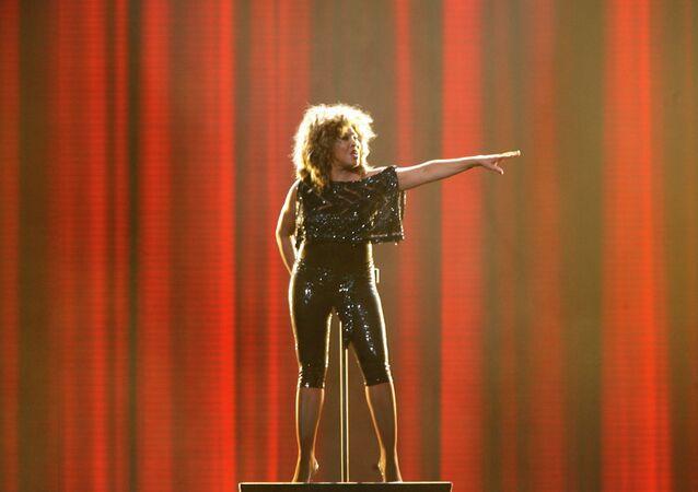Tina Turner, la cantante famosa americana