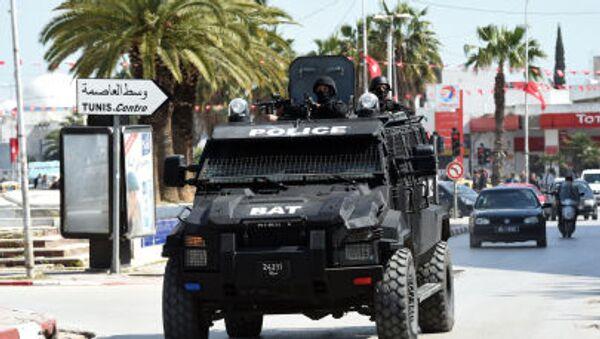 Le forze di sicurezza tunisine  presso il Museo del Bardo - Sputnik Italia