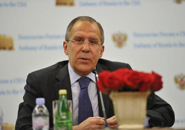 Ministro degli Esteri Sergej Lavrov