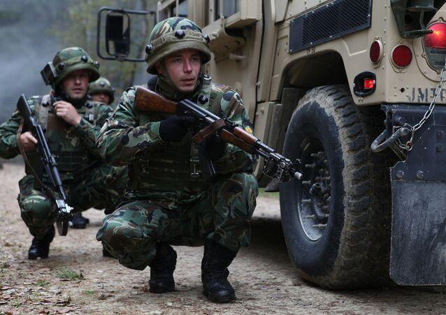 I militari della NATO