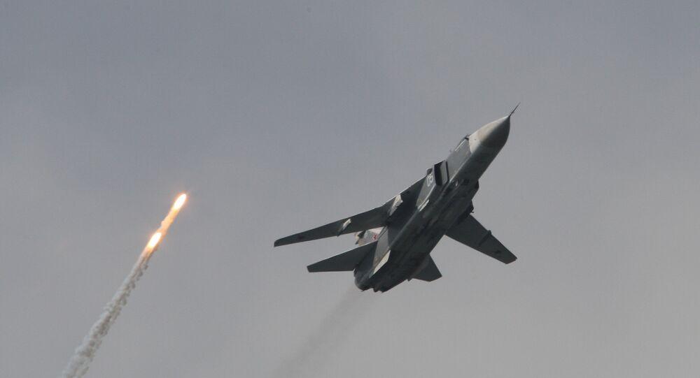 Su-24m bomber