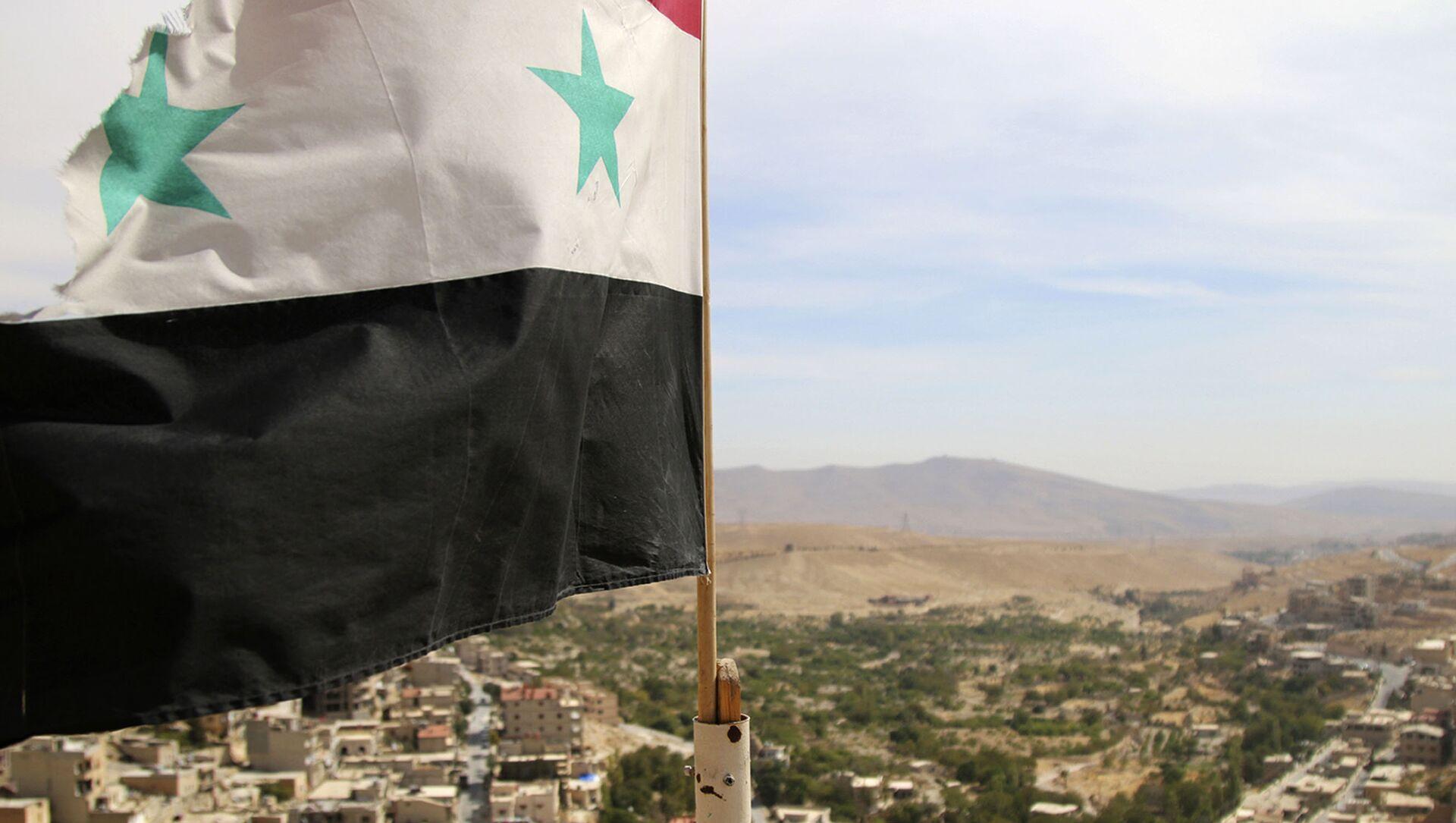 La bandiera siriana - Sputnik Italia, 1920, 21.04.2021
