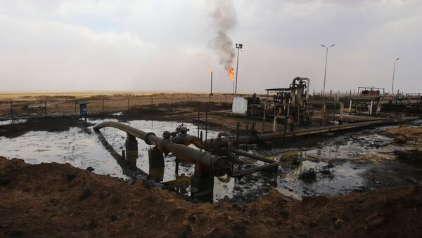 Impianto petrolifero in Siria settentrionale - Sputnik Italia