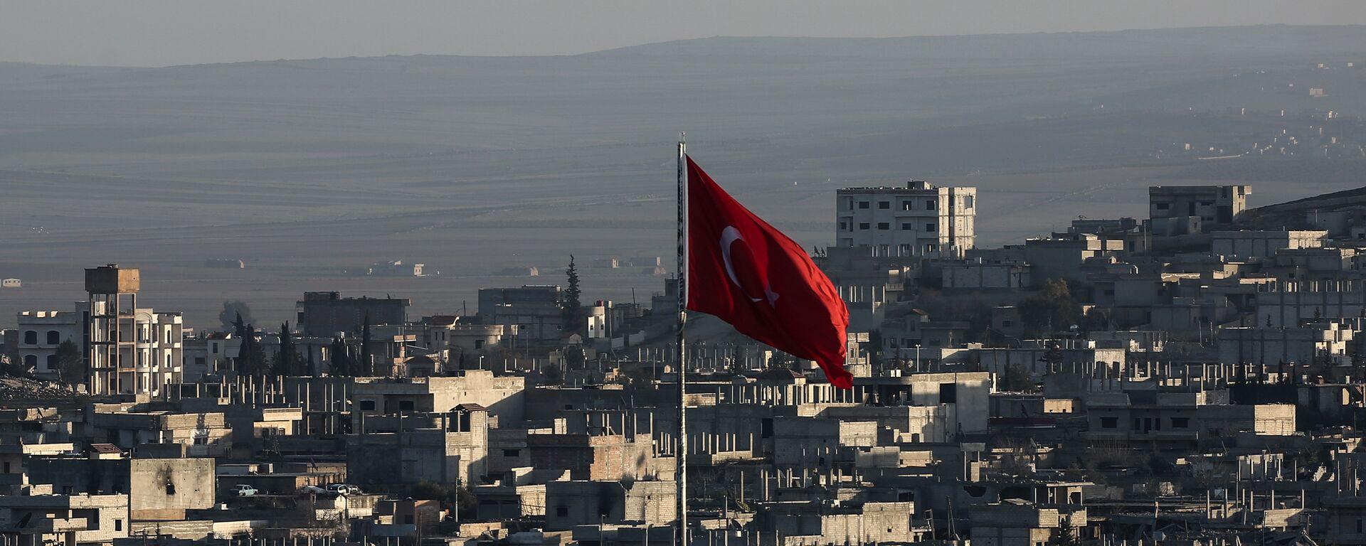 Bandiera della Turchia - Sputnik Italia, 1920, 02.05.2021