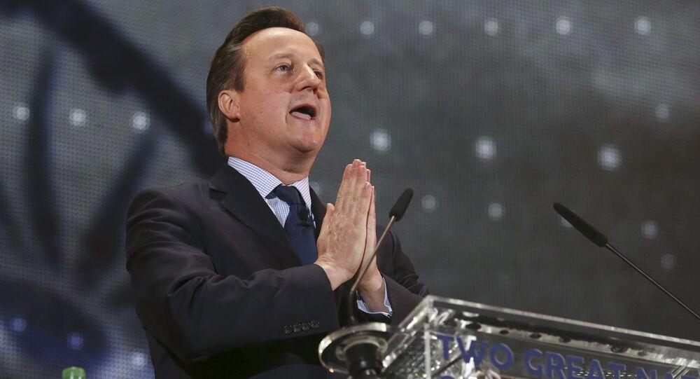 David Cameron, il premier britannico