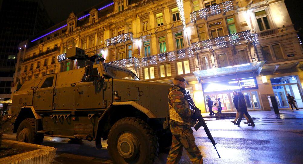 Militari a Bruxelles, Belgio