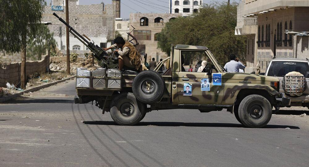 Ribelli in Yemen