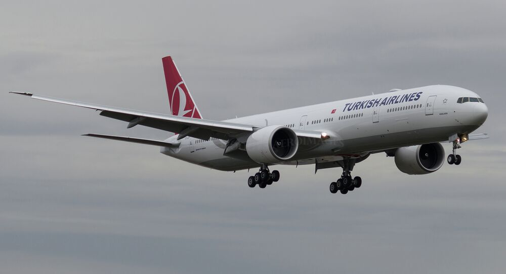 Boeing della Turkish Airlines