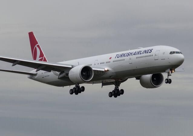 Boeing della Turkish Airlines (foto d'archivio)