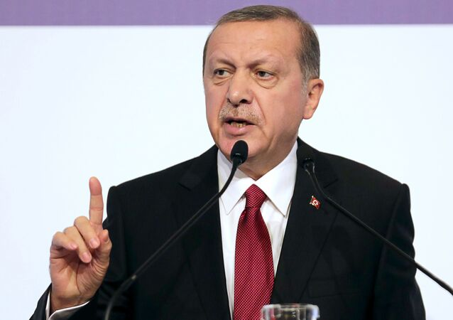 Presidente turco Recep Tayyip Erdogan (foto d'archivio)