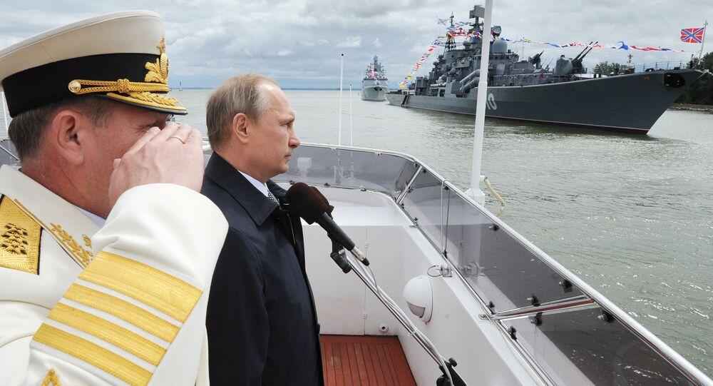 Russian President Vladimir Putin visits Kaliningrad Region