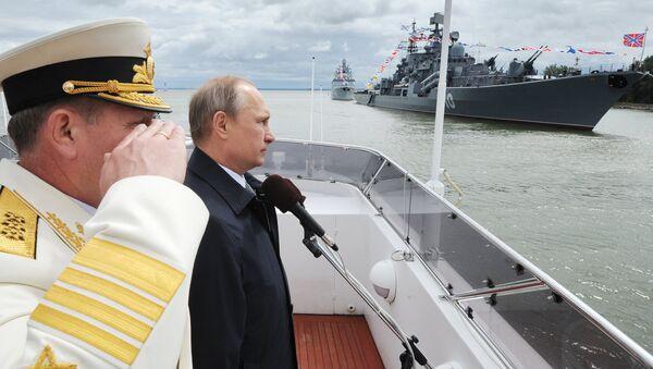 Russian President Vladimir Putin visits Kaliningrad Region - Sputnik Italia