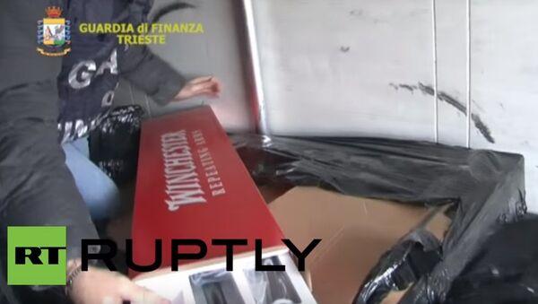 Fucili sequestrati a Trieste - Sputnik Italia