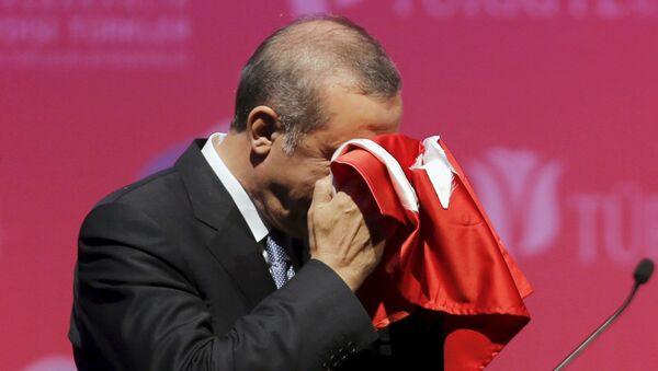 Presidente della Turchia Tayyip Erdogan - Sputnik Italia