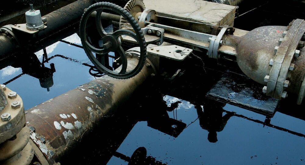 Impianto petrolifero in Siria (foto d'archivio)