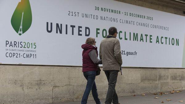 COP 21 World Climate Summit in Paris, France, November 2, 2015 - Sputnik Italia