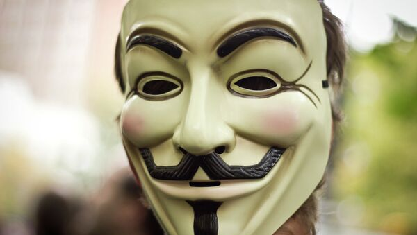 Anonymous Mask - Sputnik Italia
