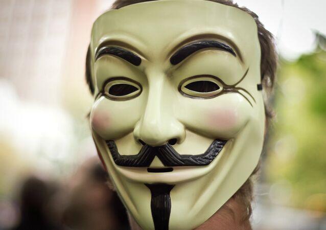 Maschera di Guy Fawkes
