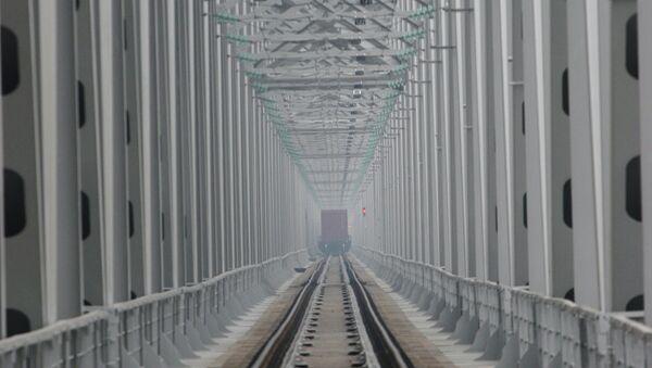 ponte sull'Amur - Sputnik Italia