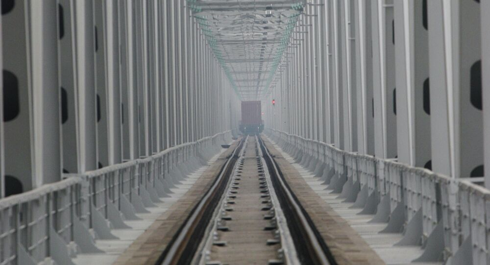 Ponte ferroviario sull'Amur