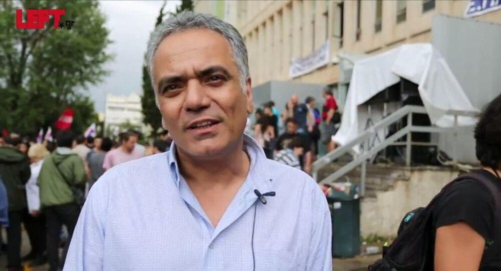 Panos Skourletis, ministro dell'Energia della Grecia.