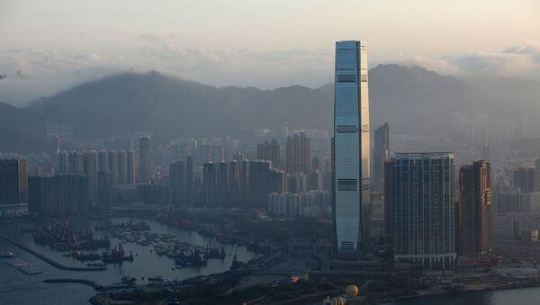 Международный коммерческий центр в Гонконге  - Sputnik Italia