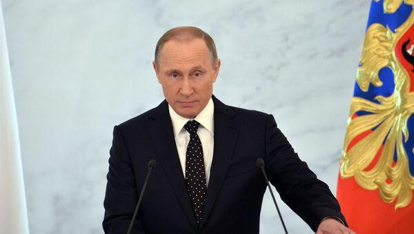Il messaggio annuale di Vladimir Putin all'Assemblea Federale. - Sputnik Italia