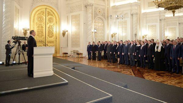 Il messaggio annuale di Vladimir Putin all'Assemblea Federale - Sputnik Italia