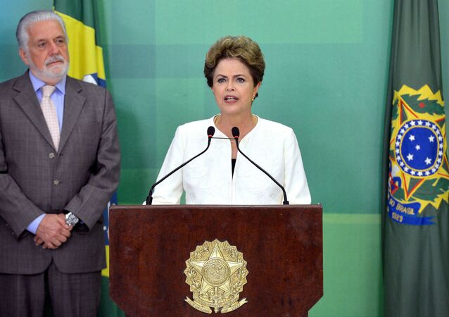 Il presidente del Brasile Dilma Rousseff