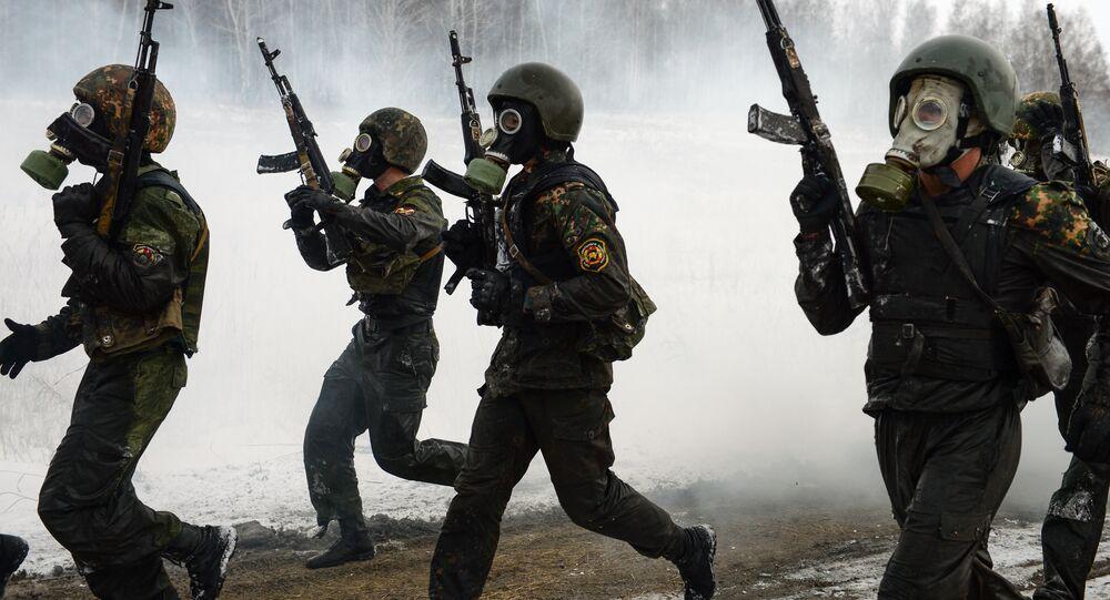 Soldati delle forze speciali russe