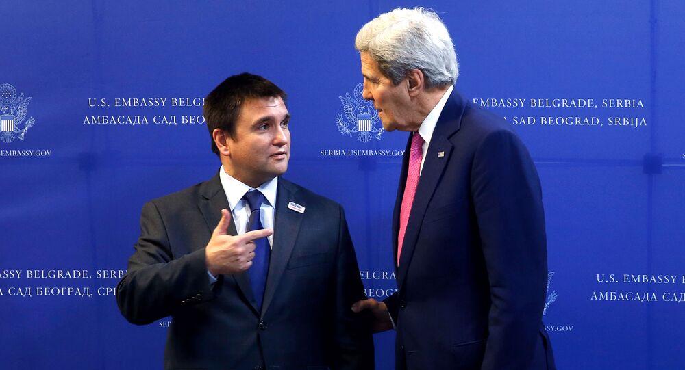 Pavlo Klimkin e John Kerry