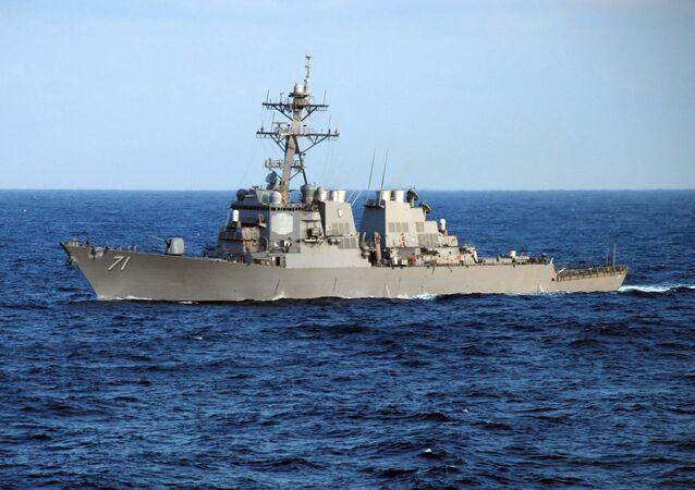 Cacciatorpediniere Ross della Marina USA