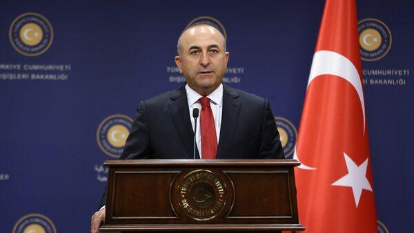 Ministro degli Esteri della Turchia Mevlut Cavusoglu - Sputnik Italia