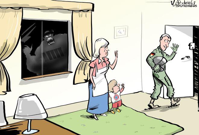 il Bundestag approva raid in Siria