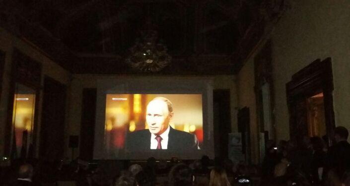"""Una scena del documentario """"Il presidente"""""""