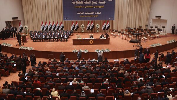 Iraqi Parliament. File photo - Sputnik Italia