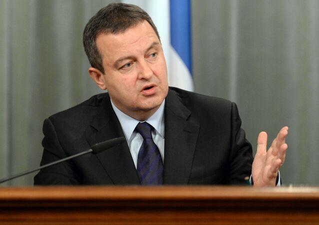 Ivica Dacic, vice premier e ministro degli esteri serbo